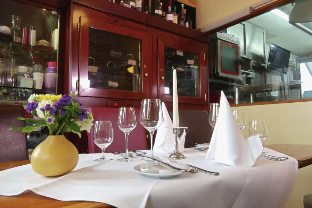 Innen - Restaurant Staader Fährhaus