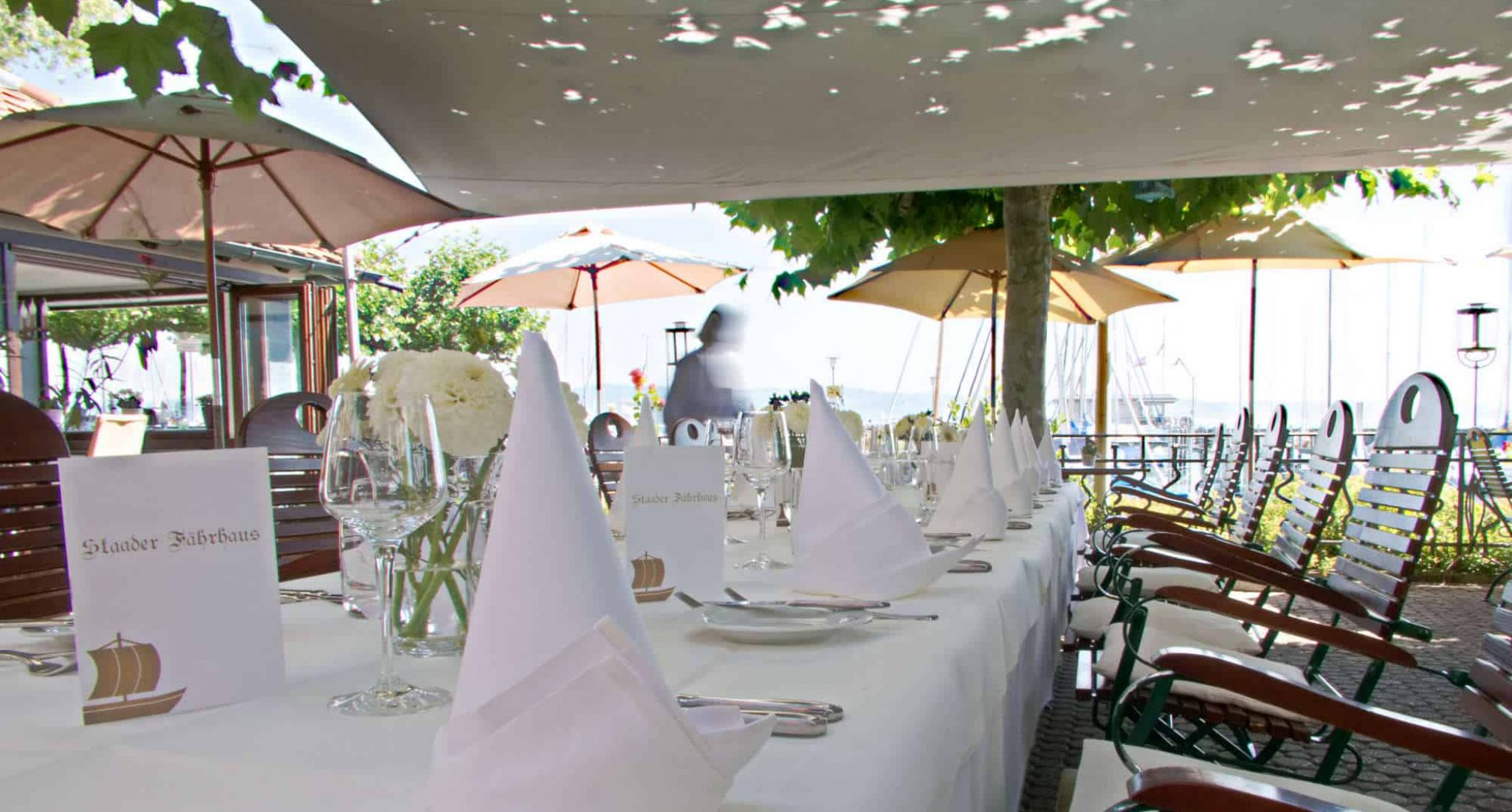 Tisch - Restaurant Staader Fährhaus